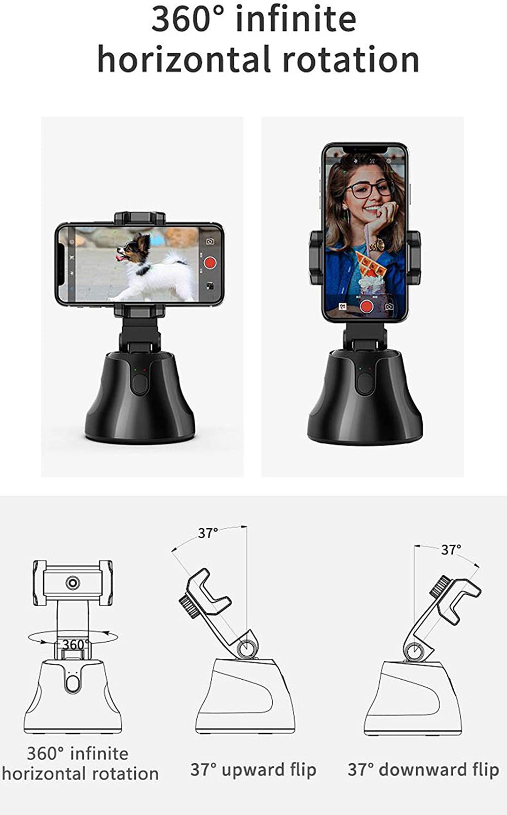 Desear Savvy Auto Tracking Smart Shooting Phone Holder