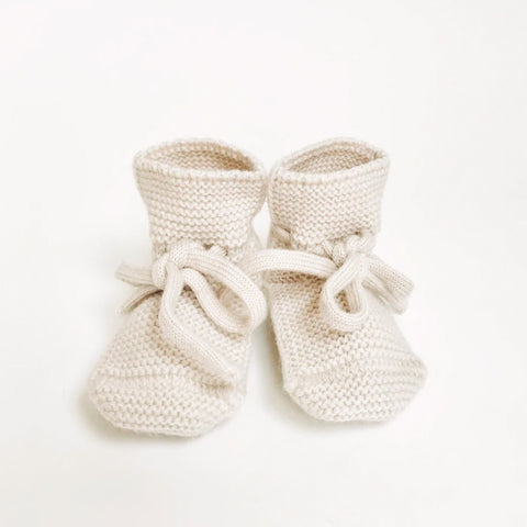 Booties Off White - Hvid