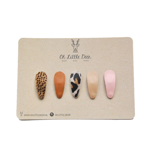 Ivy Set - Hairclips Pack of 5