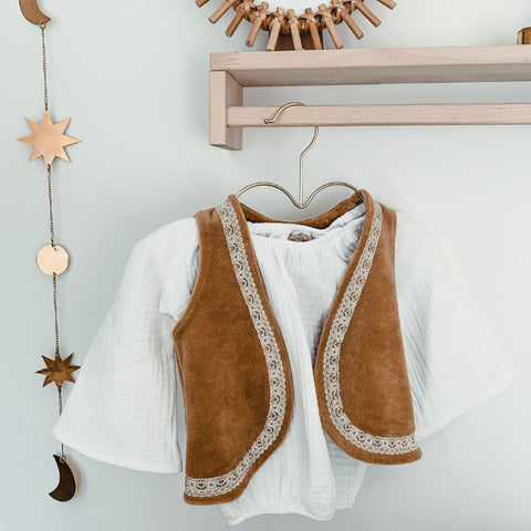 Boho Rosey Top Off White