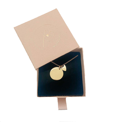 Close To Me Necklace Gold