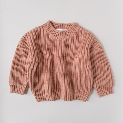 Terra Cotta Chunky Sweater