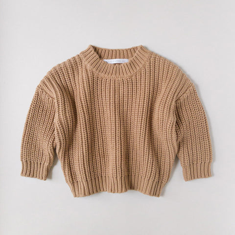 Toffee Chunky Sweater