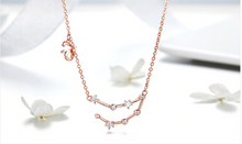 Load image into Gallery viewer, Capricorn zodiac constellation necklace