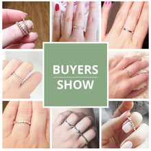 Load image into Gallery viewer, Buyer images for Silver Love Heart Ring