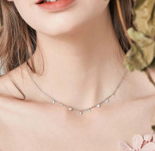 Load image into Gallery viewer, 925 Sterling Silver Zirconia Circles Choker Necklace for Women