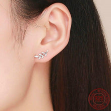 Load image into Gallery viewer, Spring Leaf Stud Earrings