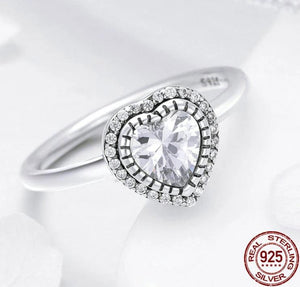 Romantic Heart Luminous Ring