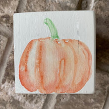 Load image into Gallery viewer, pumpkin wood block