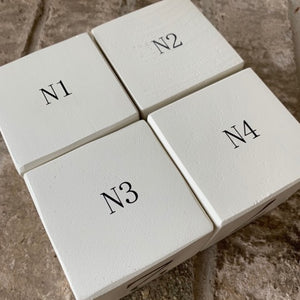 number wood blocks