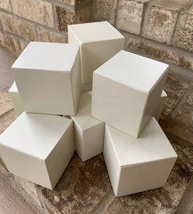 blank wood blocks