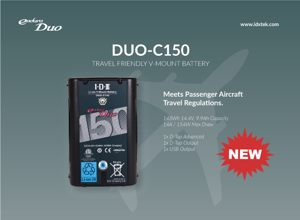 [NEW RELEASE] ADDING ANOTHER MEMBER TO THE DUO-C FAMILY, DUO-C150