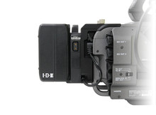 Load image into Gallery viewer, A-DCFX9 attached to Sony FX9 with Imicro-98 battery adcfx9