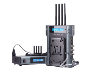 cw-f25 transmitter and receiver with antennas up