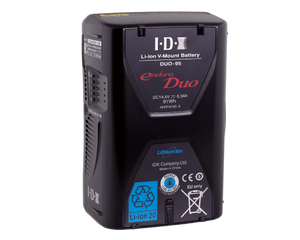 DUO-95 (91Wh Li-Ion V-Mount Battery w 2x D-Tap and USB)