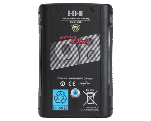 duo-c98 battery front