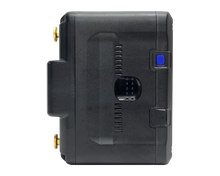Load image into Gallery viewer, IM-220G (220Wh High Load Li-ion Gold Mount Battery with 4x D-Taps & 1x USB - MOTIX)