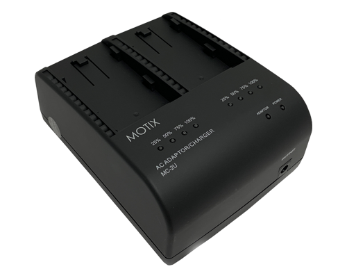 MOTIX MC-2U charger at angle