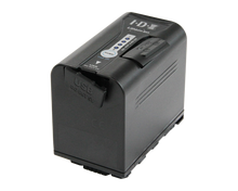 Load image into Gallery viewer, sl-vbd64 panasonic battery with slight open x-tap and usb ports