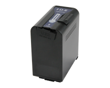 Load image into Gallery viewer, sl-vbd96 panasonic battery with slight open x-tap and usb ports