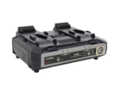 VL-2000S (2ch Simultaneous Li-ion V-Mount Battery Charger)