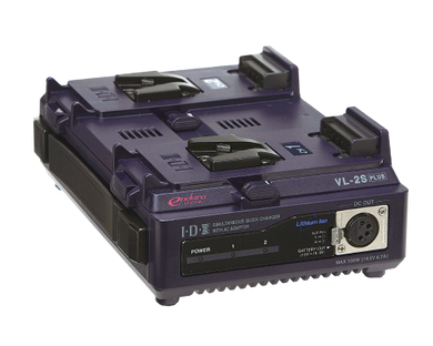 VL-2SPLUS (2ch Simultaneous Li-ion V-Mount Battery Charger)