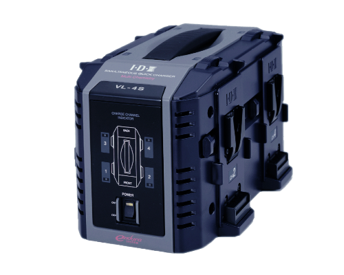 VL-4S (4ch Simultaneous Li-ion V-Mount Battery Charger)