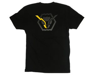 idx t-shirt 2020 back large hornet with one yellow antenna