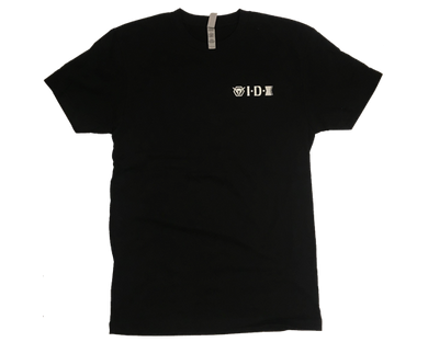 idx t-shirt 2020 front idx logo left chest