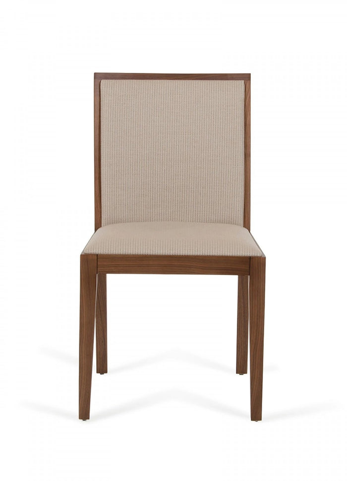 Calerm Modern Tobacco & Beige Desk Chair