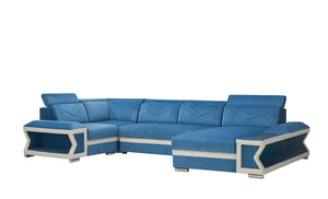 [Daily Deal] Boancy Led Modern Sectional with Side Storage and Bed Function