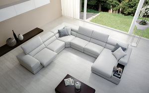 [Limited Deal] Linehan Modular Recliner Sectional Couch
