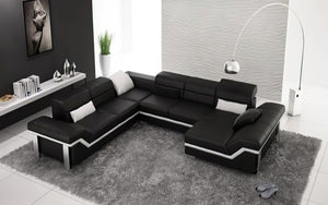 Pivot Large Sectional with Adjustable Headrest
