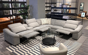 Saley Modern Fabric Sectional