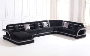 Grando Modern Sectional with Speaker and LED Lights