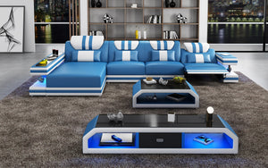 Maximus Modern Recliner Sectional With Mood Light | Futuristic Furniture