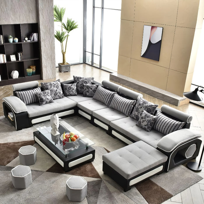 Selena Classical Modular Tufted Sectional