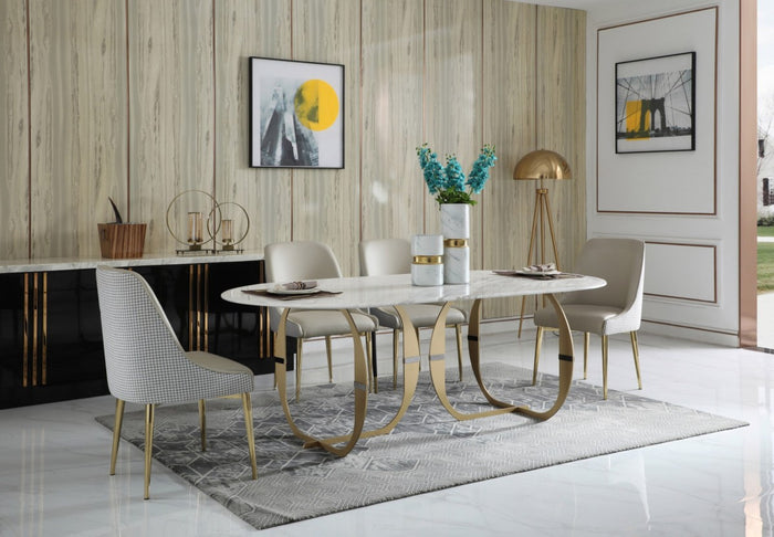Harven Marble Dining Table