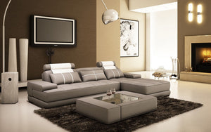 Juke Small Leather Sectional