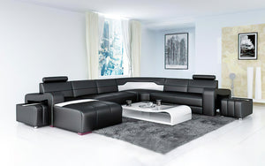 Sunnydale Large Sectional with Ottomans