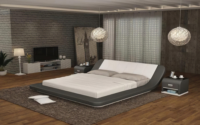 Anette Modern Leather Beds