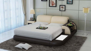 Braided Platform Bed with Storage - Jubilee Home Furniture