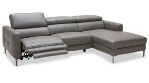 Las Vegas Modern Leather Sectional
