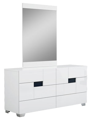 Audrey Modern White Bedroom Set