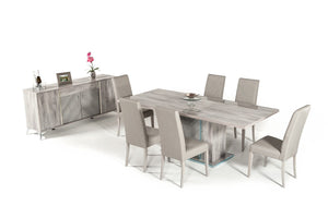 6 Chairs Dining Set