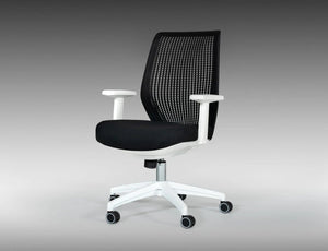 Baminer Modern Black & White Office Chair