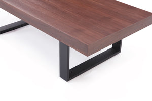 Lyru Modern Walnut Coffee Table