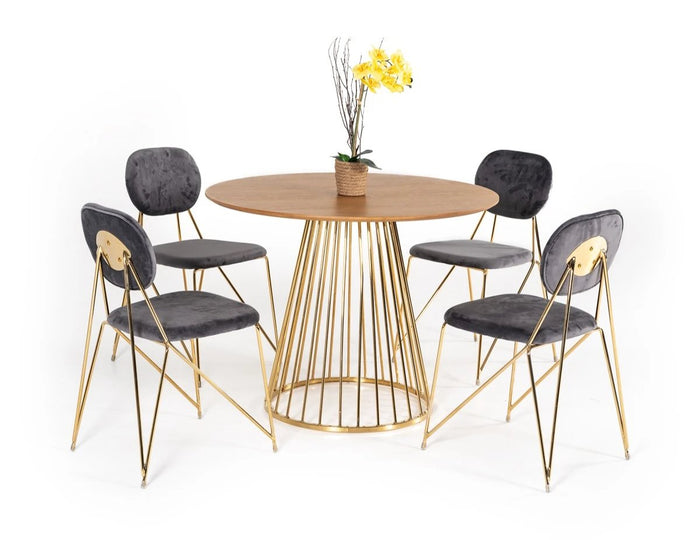 Henan Round Dining Table
