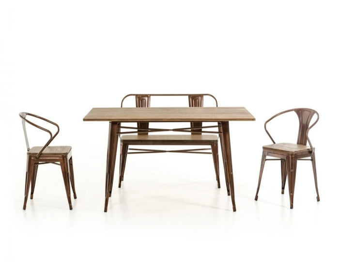 Focus Wood Dining Table