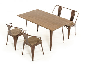 Wood Table Top Dining Table
